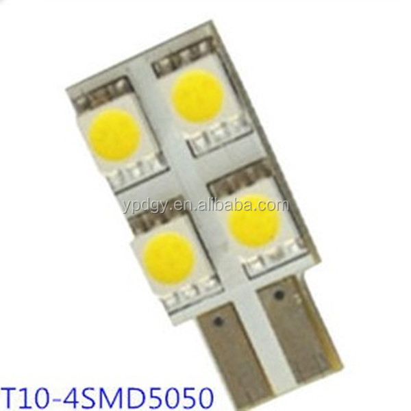 Foshan factory producing T10 LED Light 5050-4SMD LED