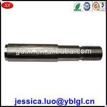 factory price high precision custom made idler shaft,304 stainless steel shaft,step shaft