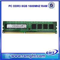 Low density 1600mhz pc3-12800 ddr3 memoria ram 8gb with ETT chips