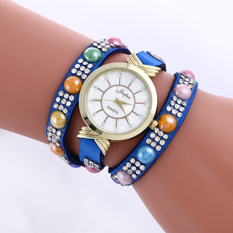2967 watch woman new fashion crystal bracelet ladies fancy watches