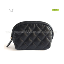 Wholesale pu leather woman pouches cosmetic bag makeup bag custom