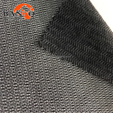 Chinese manufacturer buckram fabric interlining tricot woven fusible hair interlining interface