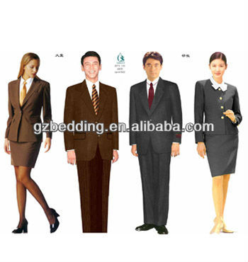 2013 Newest Design Hotel Manager Uniforms/Staff Uniforms/Service Staff Uniforms