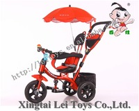 New Cool Toy Hot sales painting children tricycle canopy/kids tricycle with water bottle frame/High quality metal Baby Tricycle