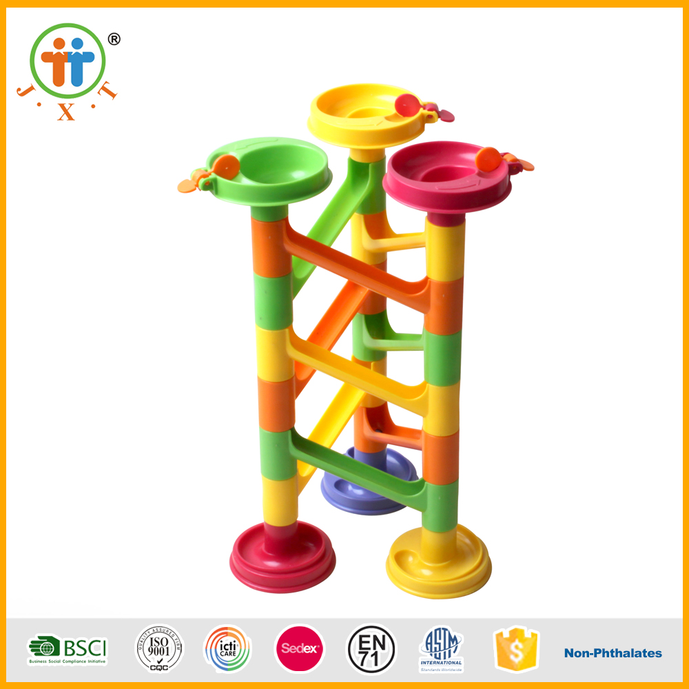 Trend 2017 blocks building toy 30pcs marble run puzzle maze game for kids