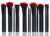 18pcs Professional synthetic hair Makeup Brushes Belt
