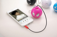 funny portable wireless rechargeable mini bomb speaker
