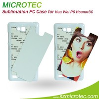 PC sublimation phone case for Hua Wei P6 Hounor3C