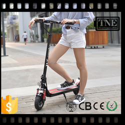 TNE hot sale CE approved folding electric kick scooter for adults