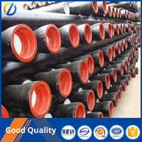 ISO2531 k9 drinking water zinc coat cement lined ductile iron pipe