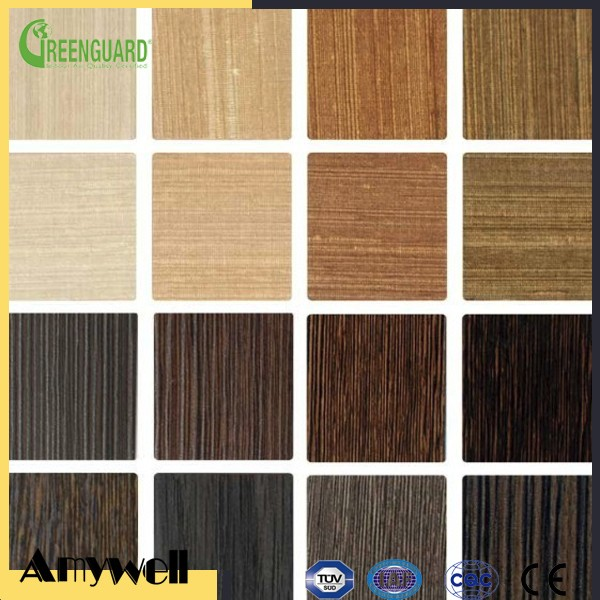 Amywell wood grain textured Phenolic tropical walnut compact laminate panels