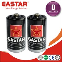Zinc manganese dioxide R20 red cap battery um 1 d