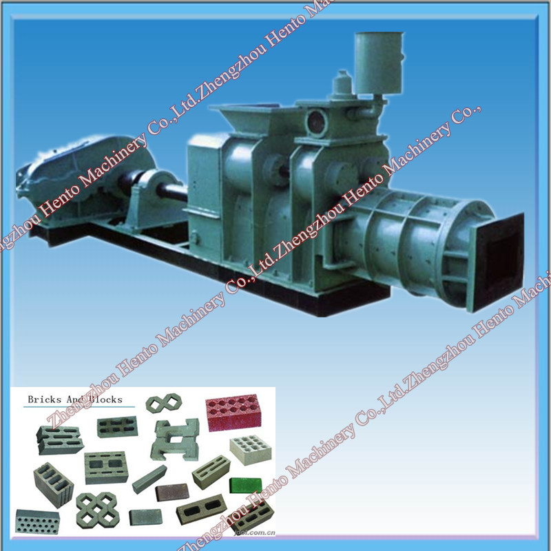Clay, Shale, Coal Slack, Fly Ash Red Brick Making Machine
