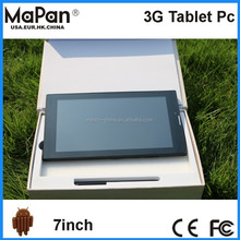 Shenzhen cheap tablets 7 inch MaPan dual core android super smart pad MX710B 3G tablet pc