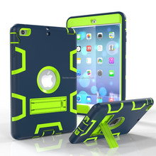 2 in 1 pc tpu For ipad mini plastic case,for iPad mini hybrid case