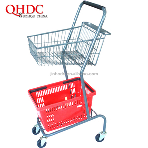 shopping basket trolley small shopping carts with wheels
