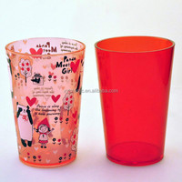 personalized plastic cups cheap cups for camping juice cups from Shenzhen