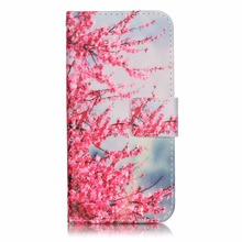 Flower Design Printed Flip Cover For Iphone 6 Factory Manufacturer Free Sample Phone Case For Iphone 6 4.7