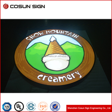 Chinese factory Aluminum frame acrylic vacuum Acrylic LED Light Box Signage