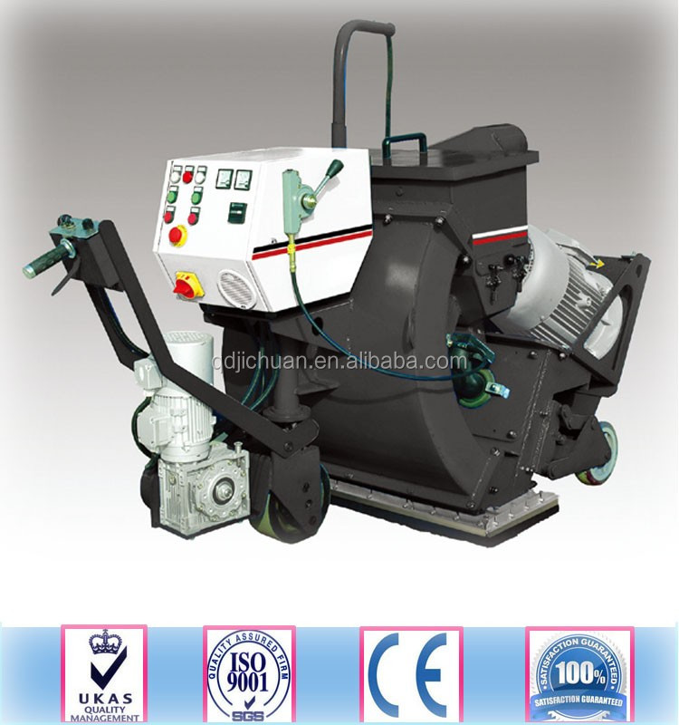 blastrac shot blasting machine for asphalt pavement