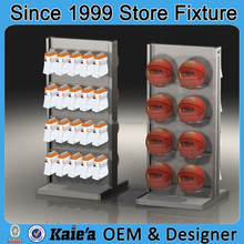 basketball display stands/basketball display rack/basketball display showcase