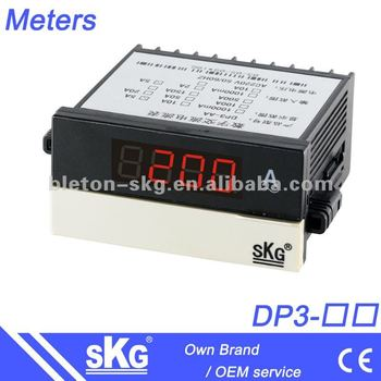 DP3 DC digital current meter DC ampere meter
