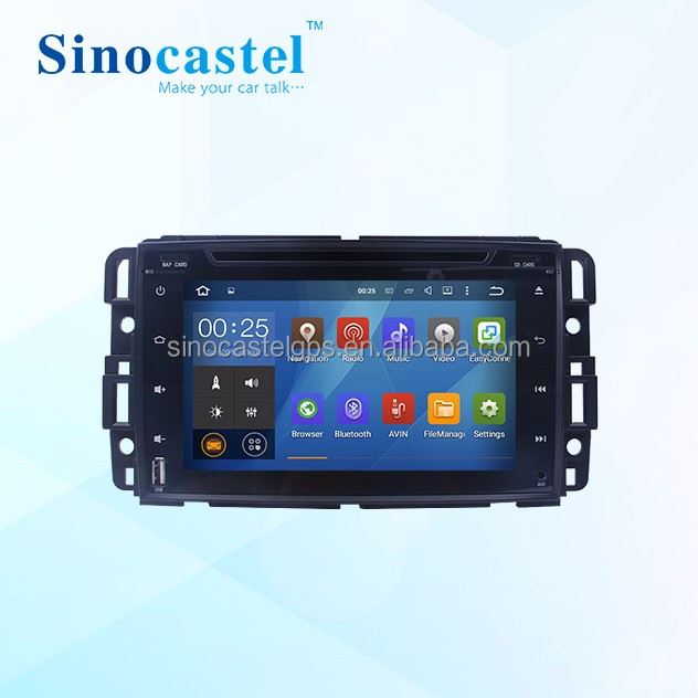 Dashboard Placement Radio Tuner With Android Car DVD Combination for GMC Yukon