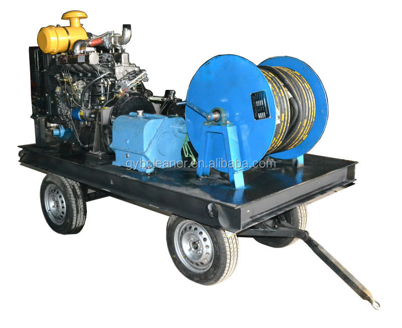 diesel engine high pressure pipe pressure testing pump water jet blaster pump