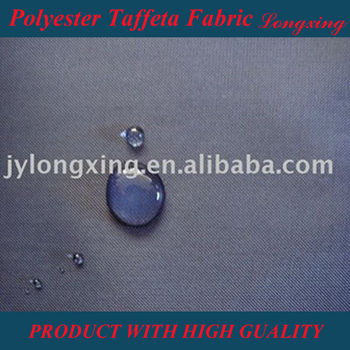 waterproof coated Polyester Taffeta Fabric for Tent