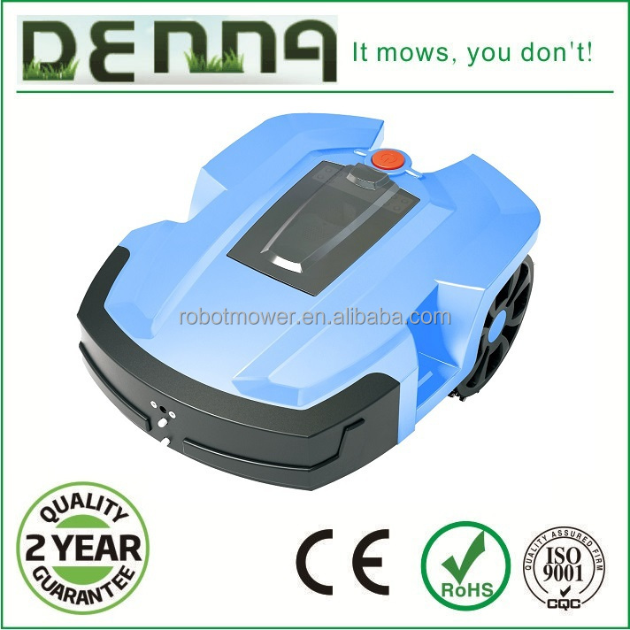 Denna best selling robot lawn mower in Europe comply with CE , RoHS, EMC, MD certificates