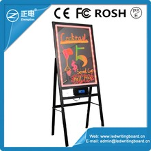 Drawing board acrylic rewritable led message board