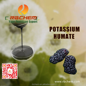 RBCHEM full dissolved in water humic fertilizer from leonardite/lignite