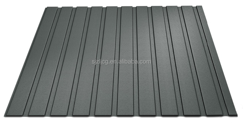 China Industrial Stone-Coated Metal Roof/Colorful Stone Metal Roof Tiles T8