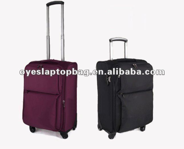 red & black 4 360 degree wheels eminent trolley bag luggage bag