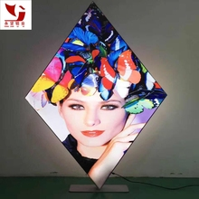 outdoor/indoor human billboard led advertising light box display