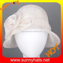 Best Design Custom Blank Sinamay Church Hat Body Wholesale For Sale
