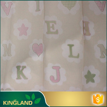 Designs curtain supplier Woven Classical 3d heart print fabric