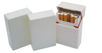 Promotional Hard Plastic 1x20 Cigarette Case