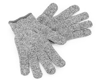 China gold supplier /13G White/Grey/Black pu coated cut resistant glove