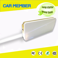 CAR MEMBER 12v high capacity multi-function portable power bank battery