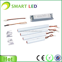 Emergency tube light circuit for led tube inverter with rechargeable battery pack