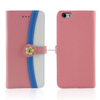 Flower Cell phone case for Girls Top Fashion with Credit Card Slot
