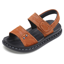 new style summer boy sandals wholesale fashion baby leather shoe