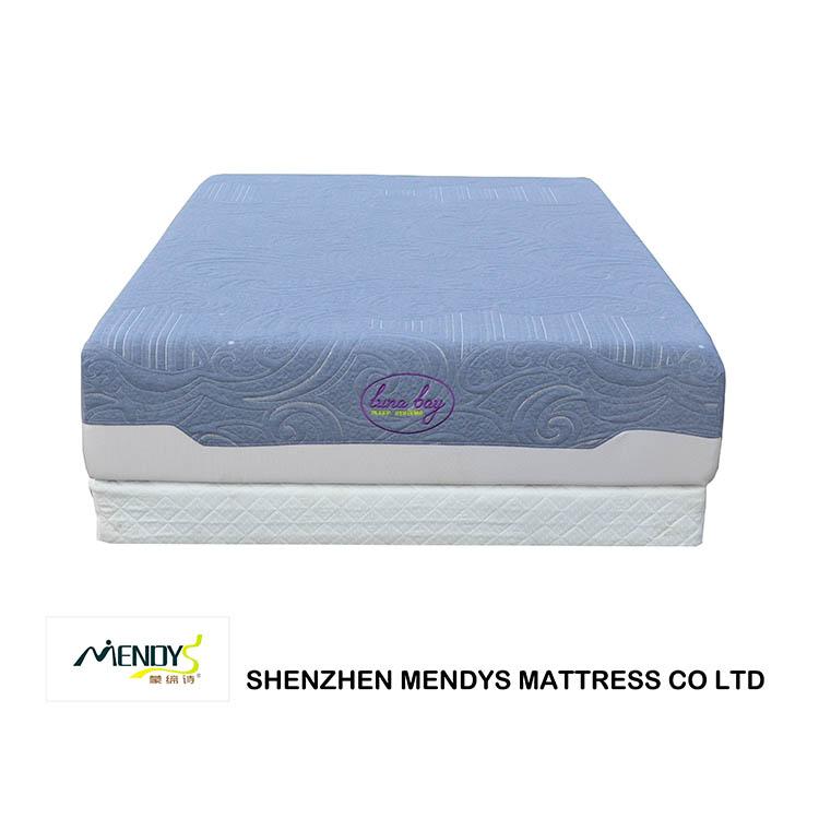 10 inch gel perfect sleep thin memory foam mattress - Jozy Mattress   Jozy.net