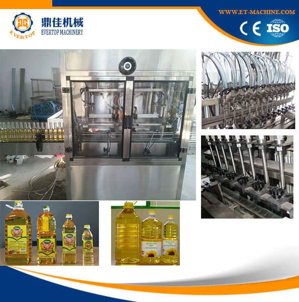 2017 Automatic Oil bottle Production Filling Line soybean oil/peanut oil/ corn oil Filling machine