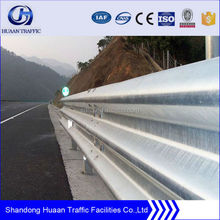 Hot dip galvanized steel barrier highway flex beam guardrail road guard barricade