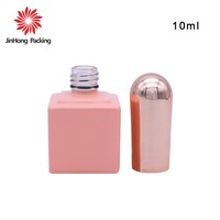 JInHong Packing Factory Price Private Label Free Sample 9ml 10ml OEM ODM empty uv gel nail polish bottle packing packaging