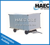 2T Hot-Galvanized Airport Covered Luggage Trolley for Luggage and Bulk Cargo