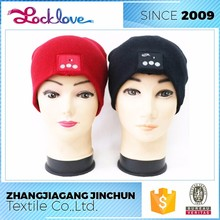 Strict Quality Check Supplier Knitted Bluetooth Wireless Earphone Hat