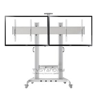 "Portable Aluminum TV Stand ( LED/LCD/Plasma ) Mount upto 40""-60"" - TS113-SVR"